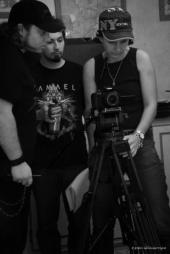 Tournage de Echec et Mat, avec Josh Lurienne.