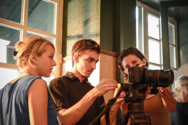 En tournage avec le collectif Street vox
