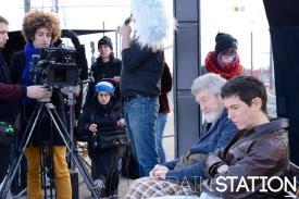 Sur le tournage de la séquence française de Train station. Poste occupé: assistante réalisatrice. Crédit: Maïna Loit