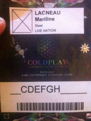 Road sur Coldplay