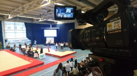 Captation championnat de France de gym pour Dromi's